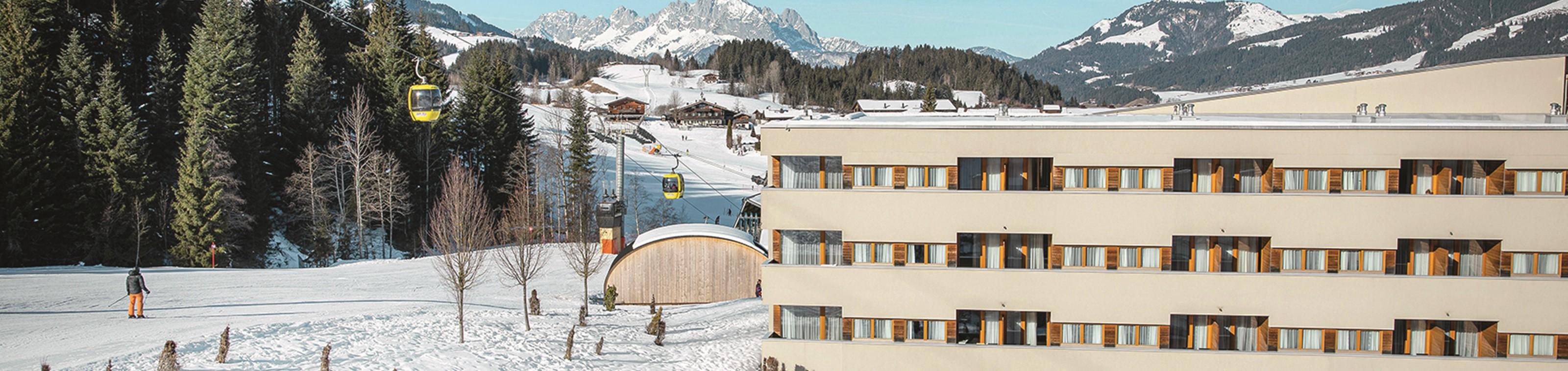 Skiplezier voor het hele gezin in TUI BLUE Fieberbrunn ****