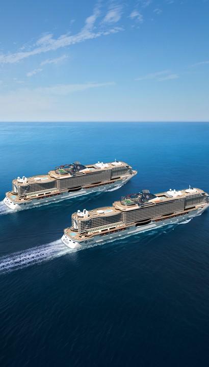 Middellandse Zee cruise met de nieuwe MSC Virtuosa*****