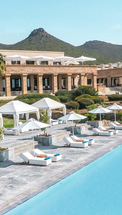 Luxe hotel aan de Atheense Riviera: Grecotel Cape Sounio