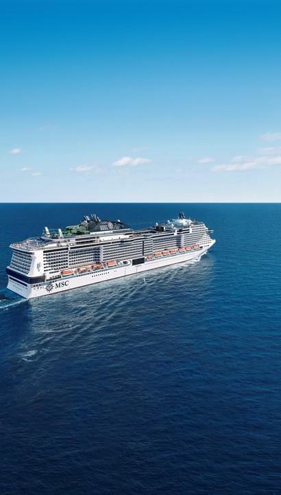Ontdek de Middellandse Zee aan boord van de MSC Grandiosa of MSC Magnifica
