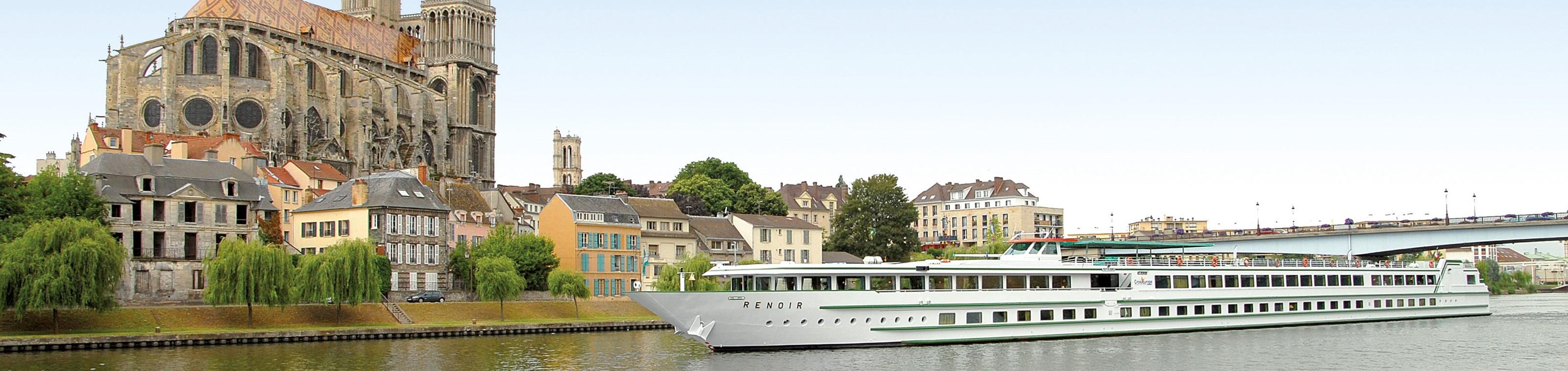 Riviercruise Honfleur - Parijs