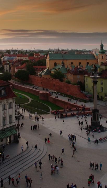Luxe hotel in het hart van Warschau