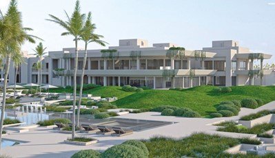 """<p style=""""text-align: justify;"""">Dit hotel ligt direct aan het strand, je hoeft enkel de promenade over te steken. Shops liggen op 1 km, en het centrum van Taghazout is zo'n 5 km van je verwijderd. De luchthaven van Agadir ligt op± 45 km afstand(transfer heen en terug inbegrepen).Het centrum van Agadir bevindt zich op 15 km van het hotel.</p>"""