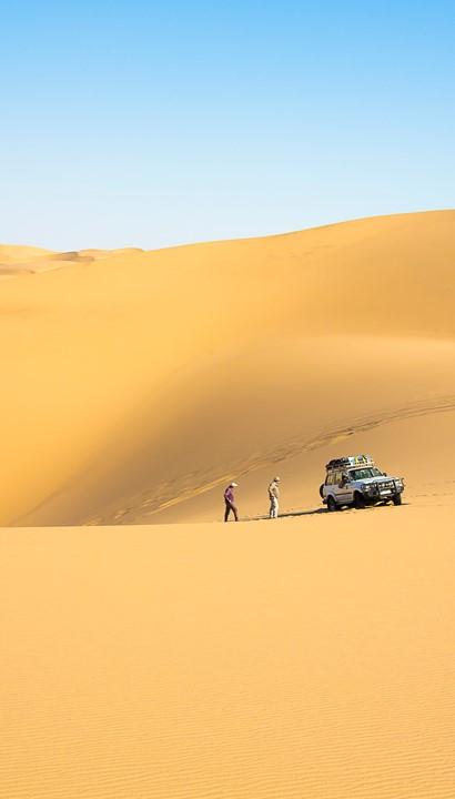 Begeleide woestijnexpeditie door het Namib Naukluft Park.