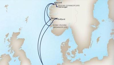 Dit is een Nederlandstalig begeleide cruise. Dat betekent dat we in groep reizen, en dat er van het begin tot het einde iemand van onze organisatie aanwezig is als aanspreekpunt. Deze achtdaagse cruise vertrekt in de haven van Amsterdam. Bustransfer van en naar Amsterdam wordt door ons voorzien. Vanuit Amsterdam varen we richting Noorwegen, waar we de indrukwekkende Noorse fjorden zullen ontdekken. Het natuurschoon, de prachtige inhammen en de majestueuze bergen zullen een onvergetelijke indruk nalaten. We varen uiteindelijk terug naar Amsterdam, en keren samen met de bus huiswaarts.