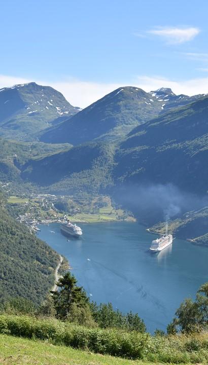 Cruise Noorse Fjorden met ms Nieuw Statendam