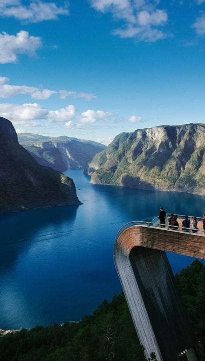 Begeleide cruise Noorse fjorden