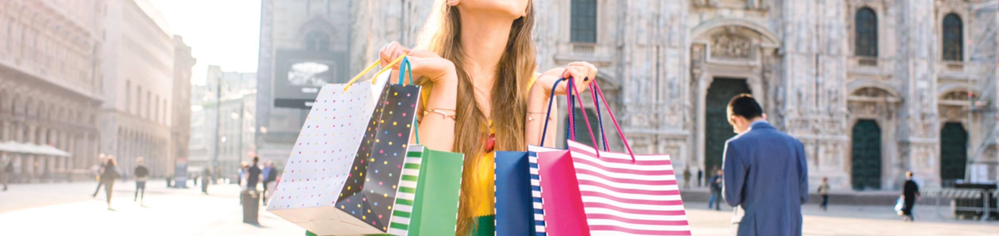 Ontdek shopping walhalla Milaan