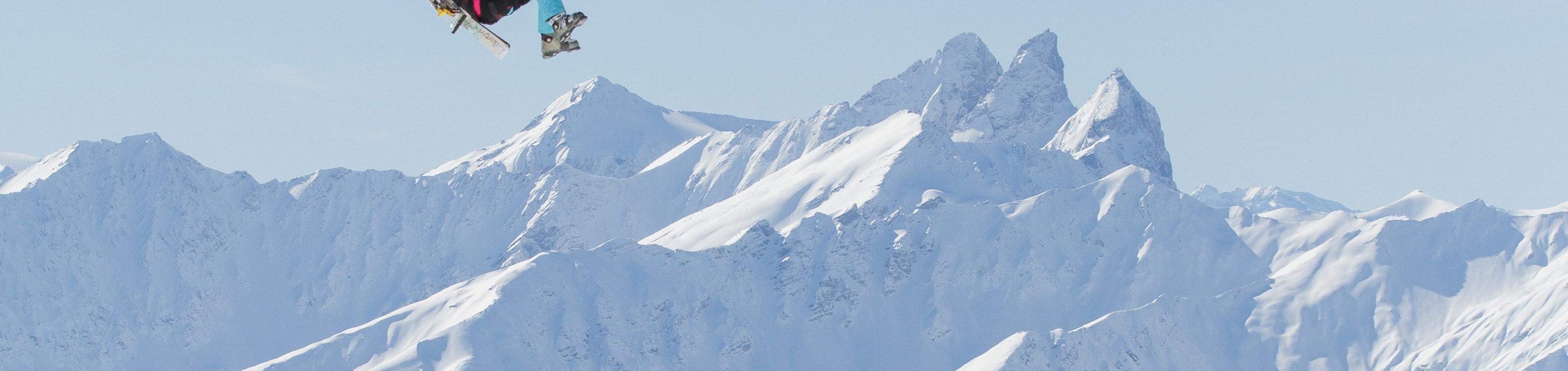Zweef van Orelle naar Val Thorens met de Tyrolienne