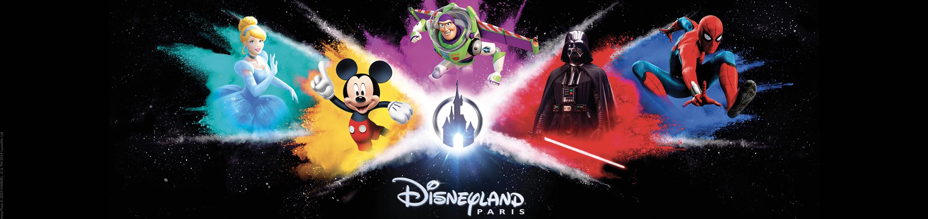 Beleef de magie van Disneyland® Paris!