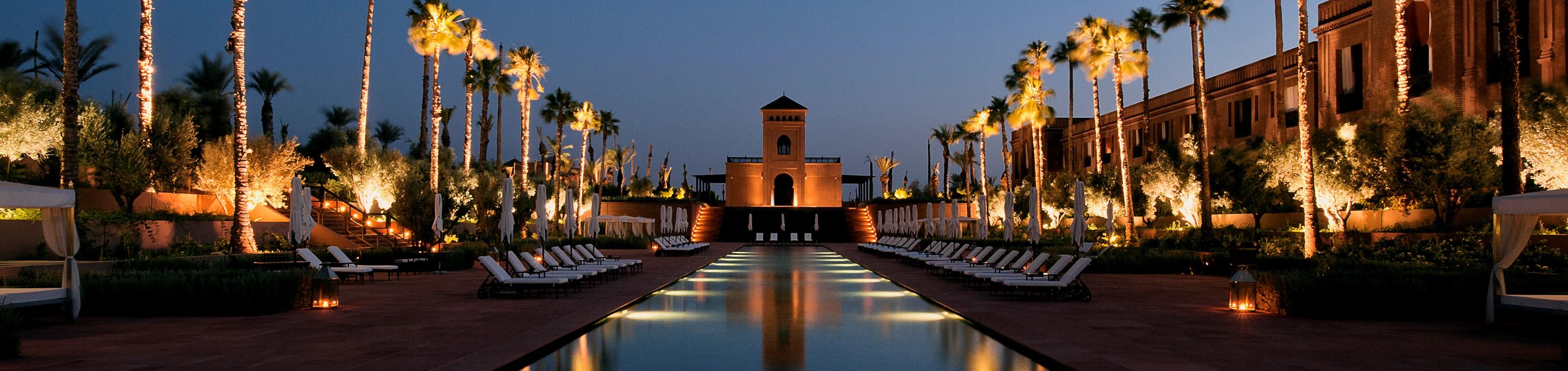 Citytrip luxueux Marrakech