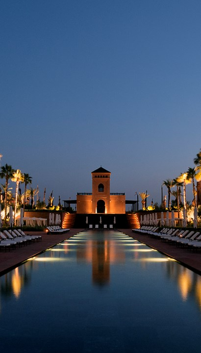 Citytrip luxueux Marrakech