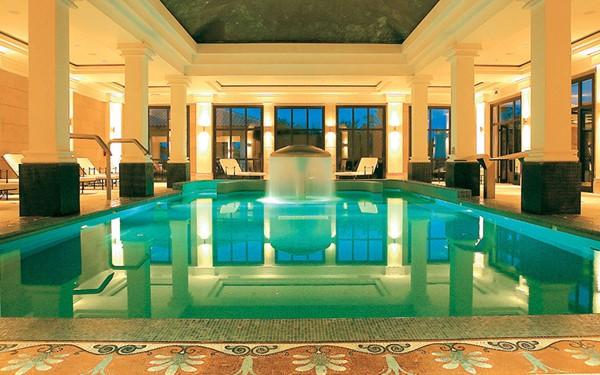 Vijfsterren luxehotel met topservice