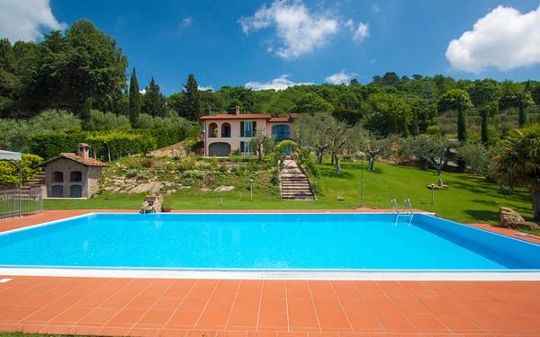 Rustig gelegen Italiaanse villa in Umbrië
