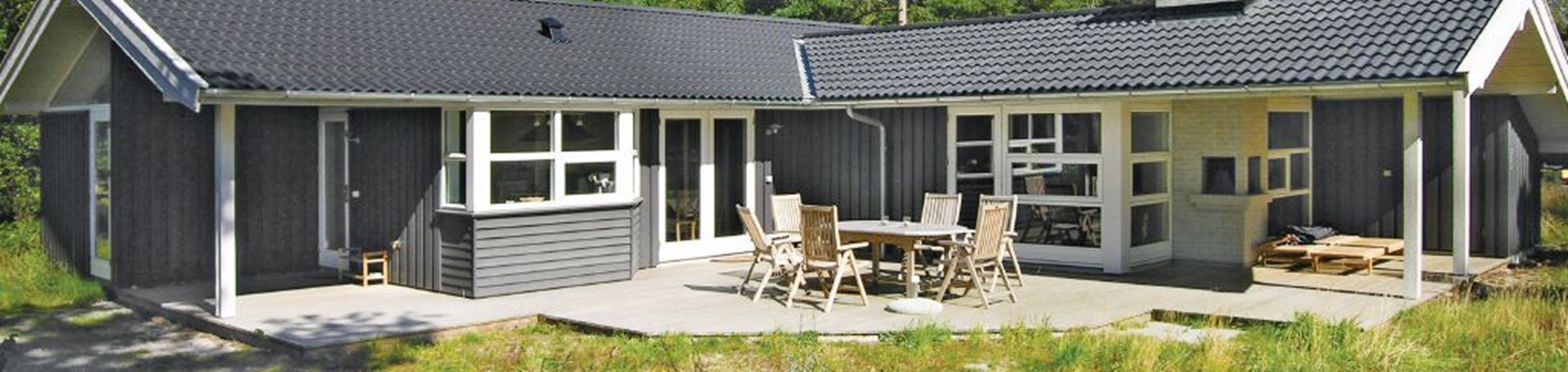 Rustig vakantiehuis op het zonnigste eiland van Denemarken (6p.)
