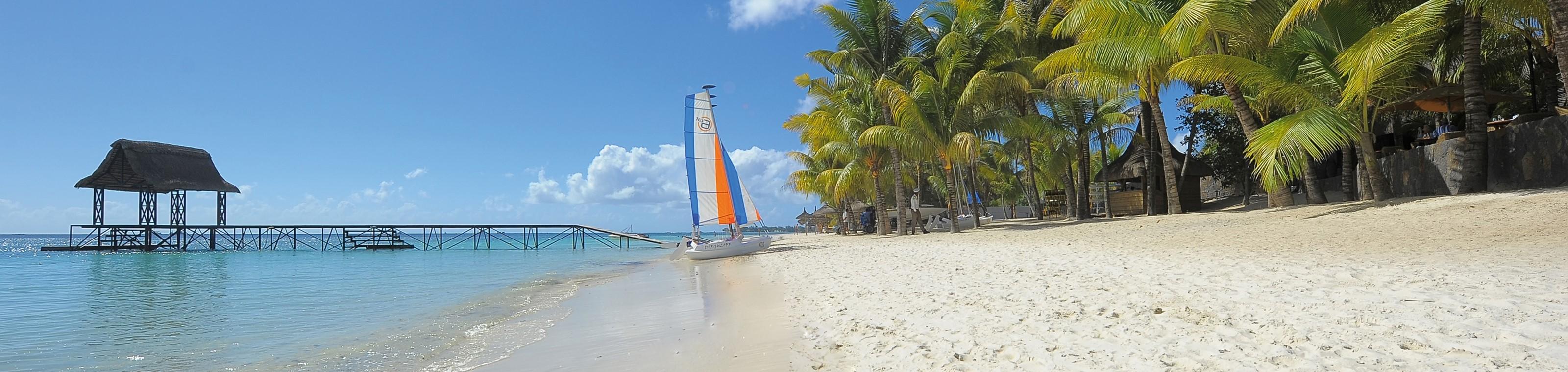 Suite of villa op Mauritius