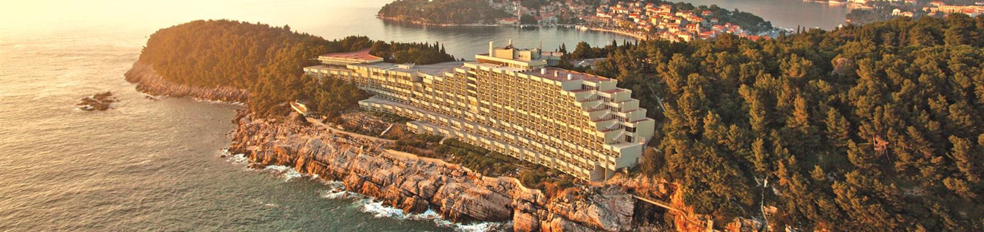 Zonnig strandhotel in Dubrovnik
