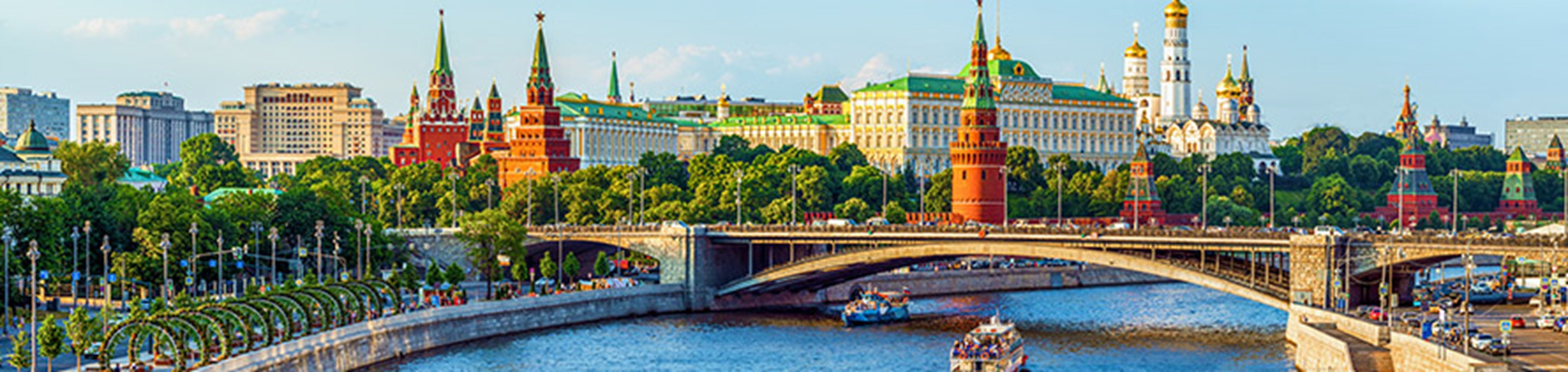 Begeleide riviercruise Rusland
