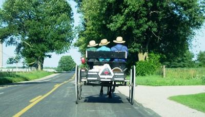 <p>Rit doorheen de Appalachain Mountains tot Lancaster, waar u zich onderdompelt in de cultuur van de Amish.</p>