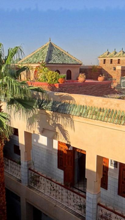 Riad in Marrakech met Vlaamse uitbating