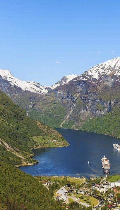Nederlandstalig begeleide cruise Noorse fjorden