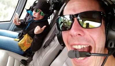 De Grand Canyon per helicopter