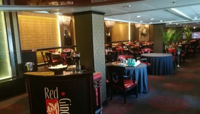 Le restaurant asiatique Red Ginger
