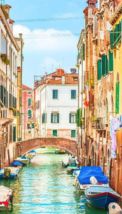 Promotie betoverend Venetië