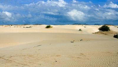 Kaapverdië is een geliefde winterzonplek, en bestaat uit verschillende eilanden. Het eiland Boa Vista met z'n perzikkleurige duinen, steile vlaktes en schitterende oases lijkt als een deel van de Sahara, maar dan in het midden van de Atlantische Oceaan. Doorheen het eiland vind je de meest uitgestrekte zandstranden (ideaal voor surfers en windsurfers), leuke dorpjes en prachtige hotels. Het eiland is gezegend met een zalige ontspannen sfeer. Het eiland ligt op 7 uur vliegen, maar door het tijdsverschil (je draait de klok drie uur terug), verlies je heel weinig van je vakantietijd!
