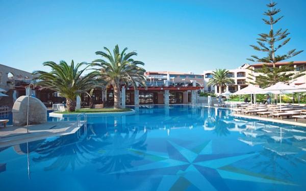 Comfortabel viersterren familiehotel op Kreta