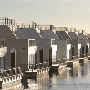 Drijvend vakantiehuis in Duitsland