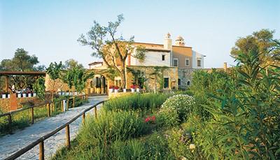"""<div style=""""text-align: justify;"""">Respect voor de natuur is eigen aan dit hotel. De verse salades, groenten, olijfolie en wijn zijn biologisch geteeld en zijn afkomstig van de ambachtelijke hoeve &#39;Agreco&#39;, die tien kilometer verder ligt. Wie dat wil, kan het landgoed gaan bezoeken en er de lokale producten proeven en kopen.</div>"""
