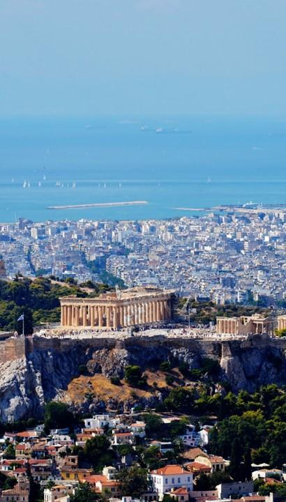 Combinatiereis Athene: stad en strand