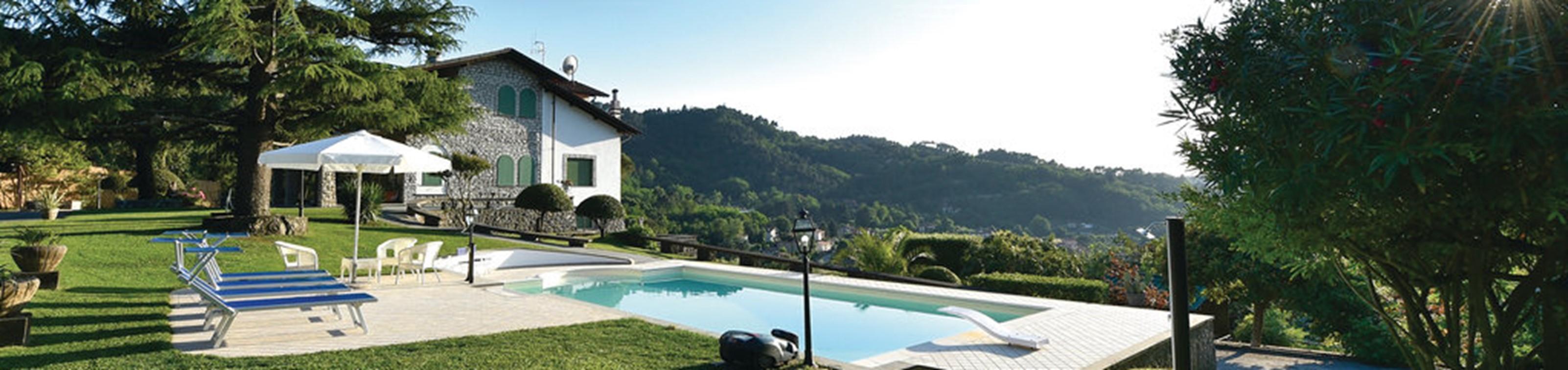 Vakantiehuis Toscane met zicht op groene vallei (8 personen)