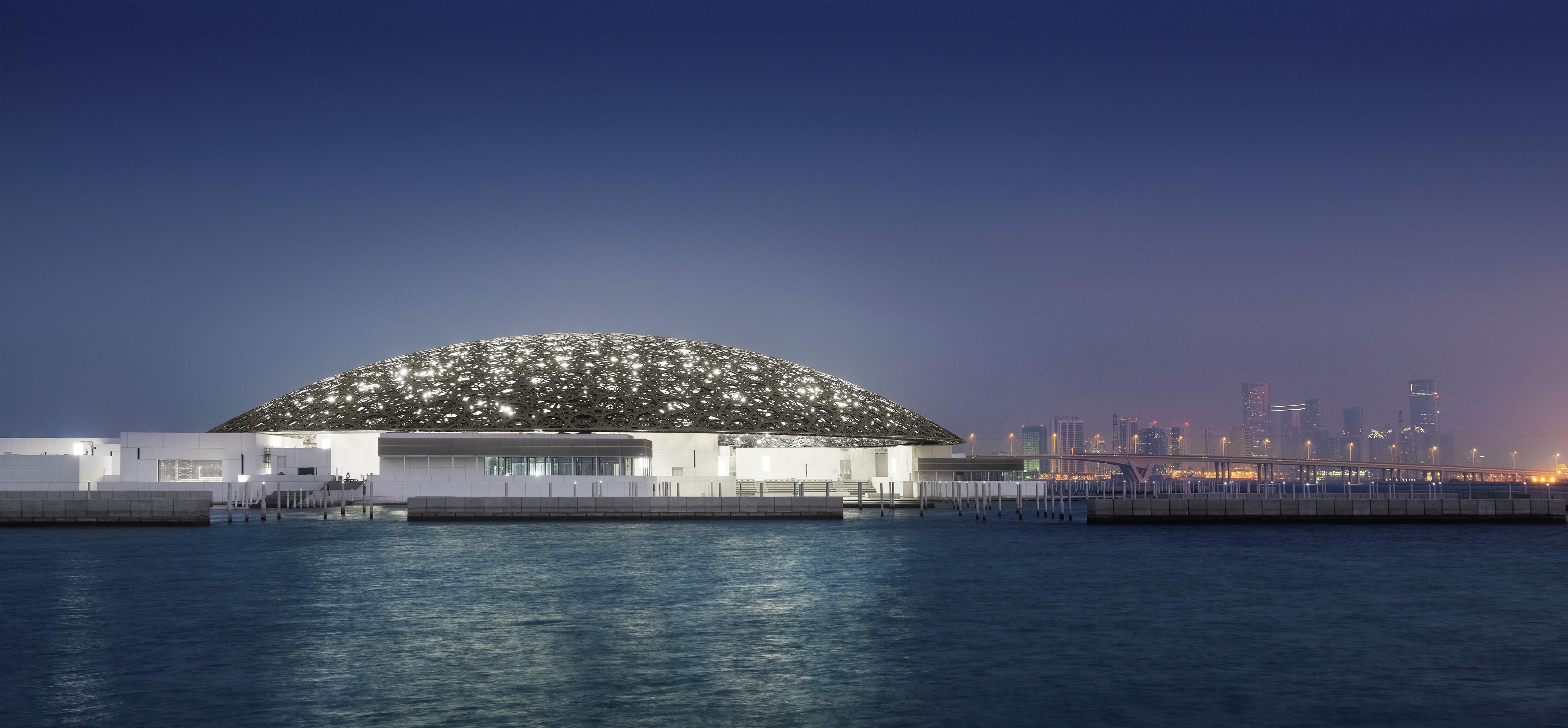 Citytrip Abu Dhabi met bezoek aan het nieuwe Louvre