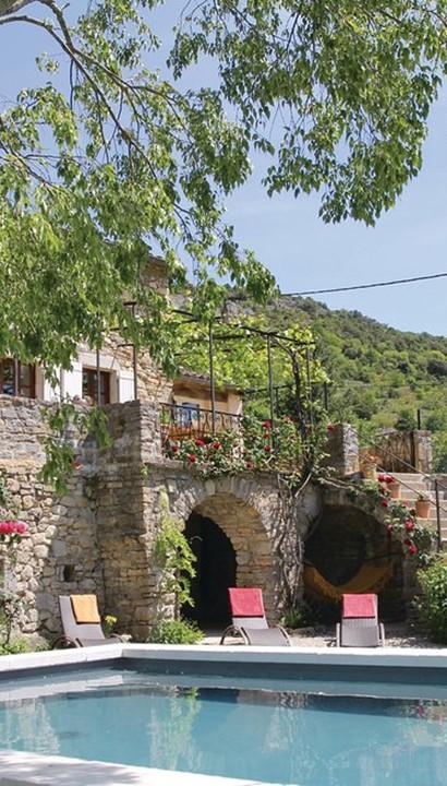 Vakantiehuis Ardèche in middeleeuws dorp