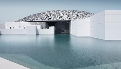 """<div style=""""text-align: justify;"""">In 2007, besloten Frankrijk en de Verenigde Arabische Emiraten de handen in elkaar te slaan om een nieuw cultureel project op te starten. Zo ontstond het Louvre in Abu Dhabi. Tien jaar later, in november 2017, werd dit indrukwekkende nieuwe museum door de Franse president Macron ingehuldigd. Het kostte één miljard euro om het te bouwen.Het ontwerp is van de hand van Franse toparchitect Jean Nouvel, en beeldt een stad uit. 55 witte gebouwen worden overdekt door één impressionante koepel,gemaakt uit 7850 sterren. Die sterren laten zonlicht door, waardoor er een regen van lichtvlekken ontstaat.</div>"""