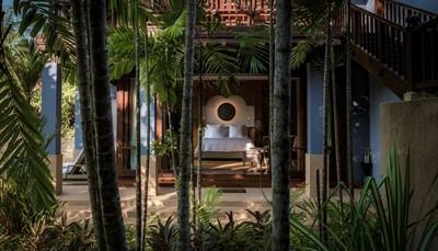 Het resort beschikt over 91 prachtige paviljoenen en villa's met Maleisische, Moorse en Aziatische invloeden. Het accent werd onvoorwaardelijk gezet op kwaliteit, comfort en schoonheid van de badkamers. Alle paviljoenen en villa's beschikken uiteraard over klimaatregeling, tv, cd- & dvd-speler, minibar, kluis, thee- en koffiebenodigdheden.<br />