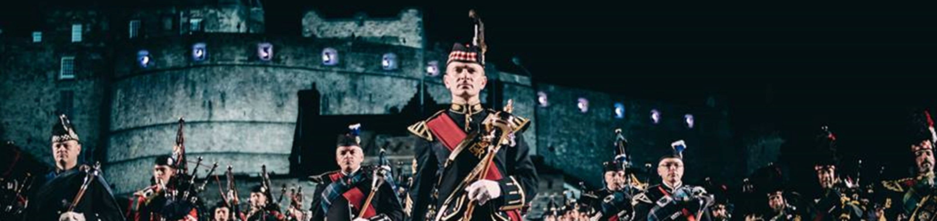 De Military Tattoo in Edinburgh