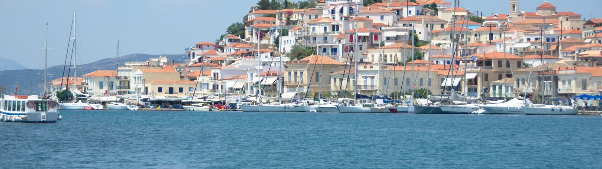 Het idyllische Griekse eiland Poros