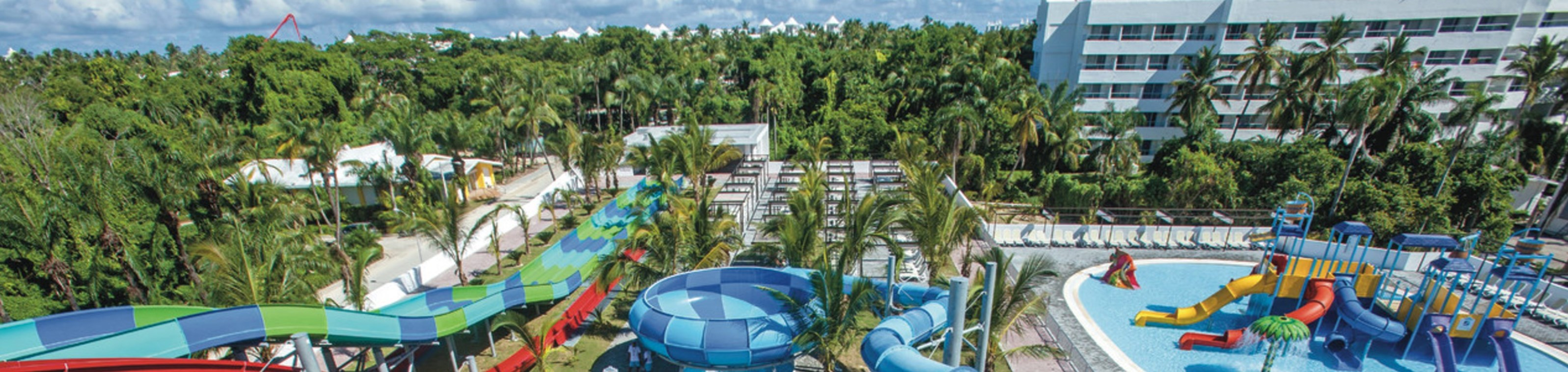 RIU Splash Water World en de RIU Pool Party op Punta Cana