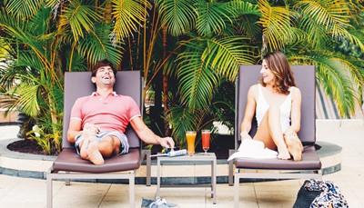 <ul> <li>Adults Only vanaf 18 jaar</li> <li>Uitstekende beoordeling door onze klanten: 9/10</li> <li>Mooie ligging, direct aan het strand</li> </ul>